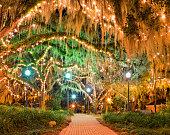 Downtown Park Tallahassee Florida