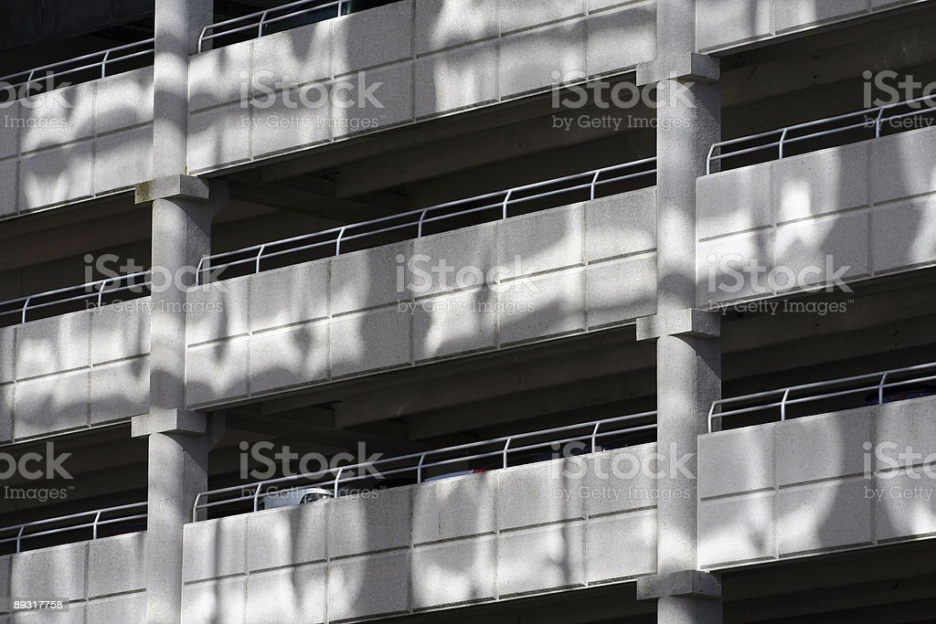 Downtown Parking royalty-free stock photo