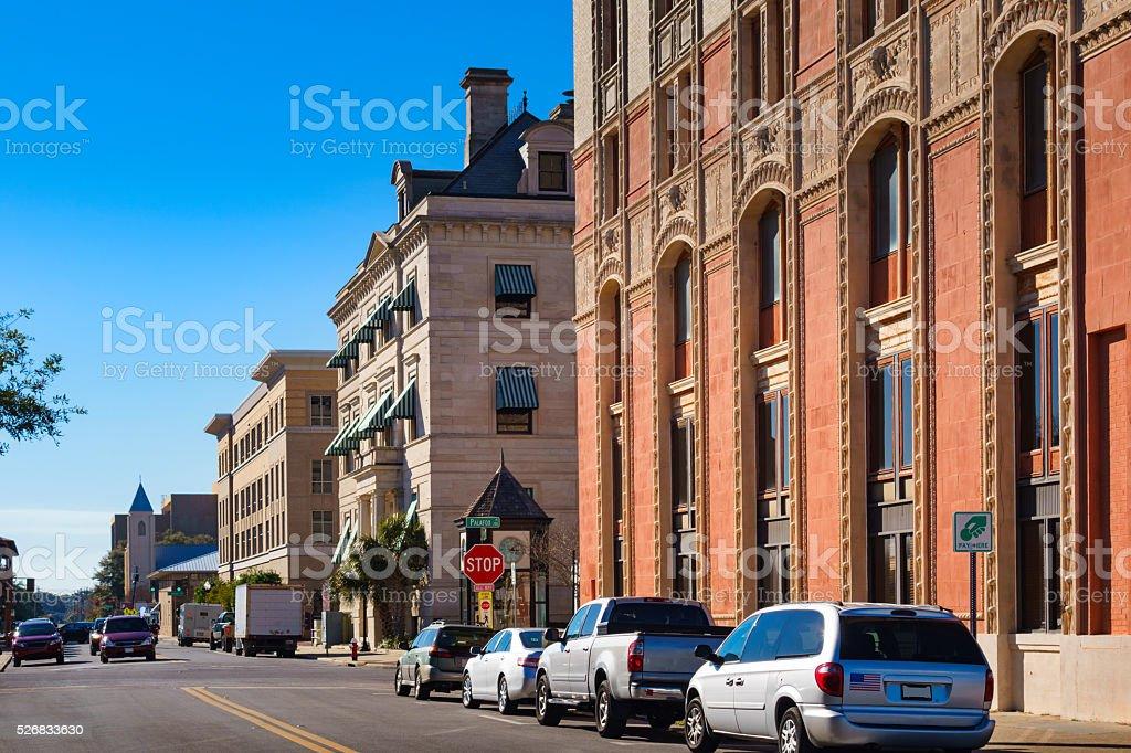 Downtown Pensacola Florida USA stock photo