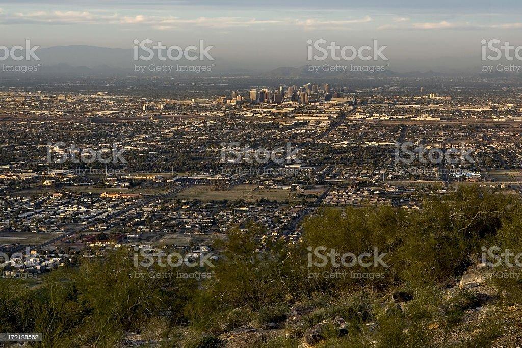 Downtown Phoenix royalty-free stock photo