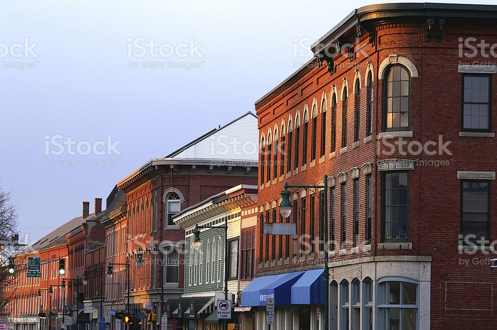 Downtown stock photo