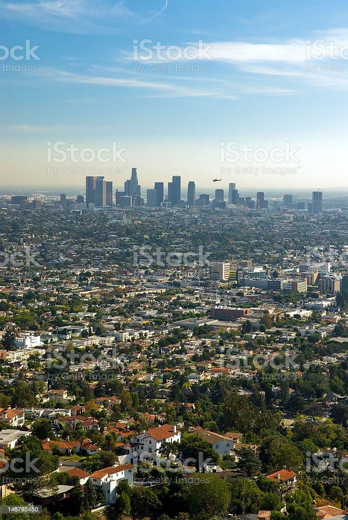 Downtown LA royalty-free stock photo