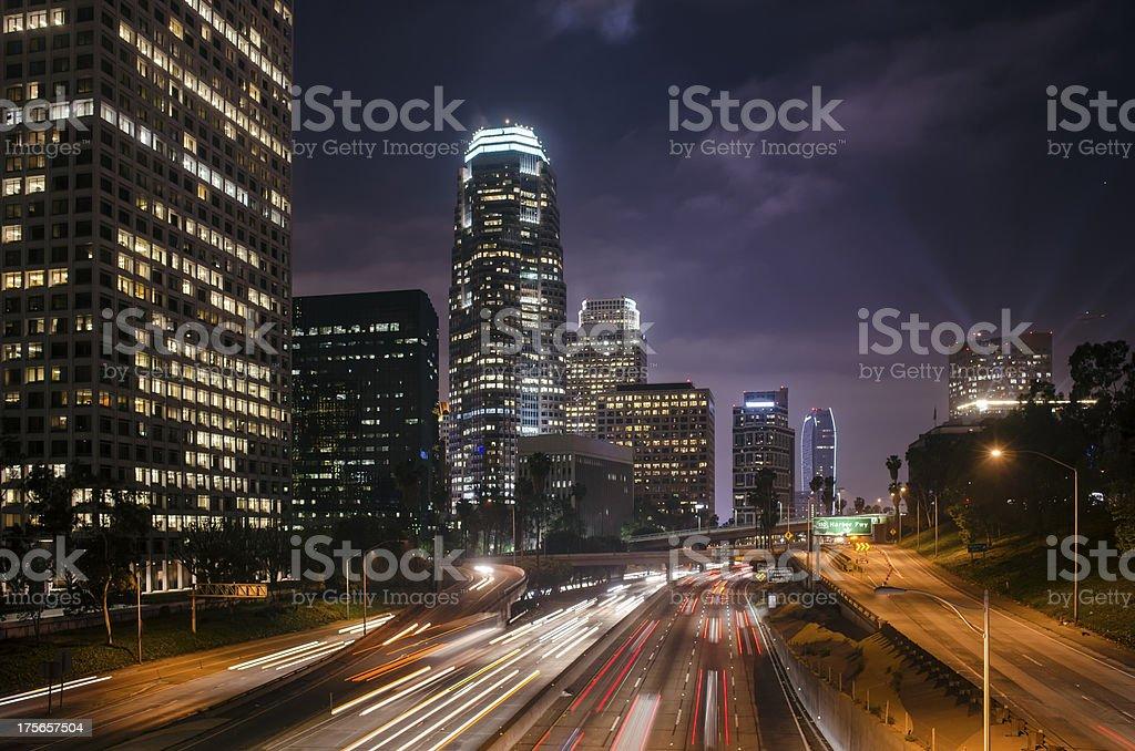 LA Downtown royalty-free stock photo