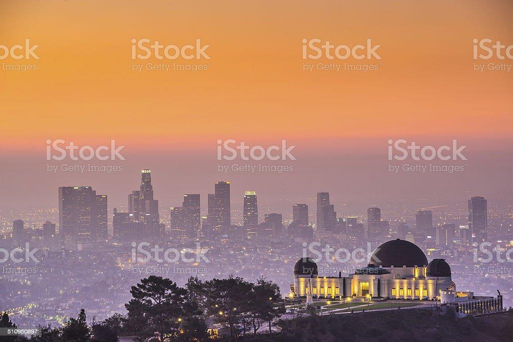Downtown LA stock photo