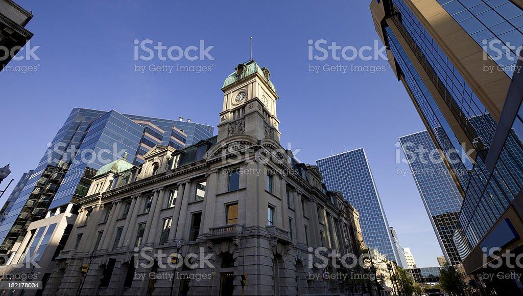 Downtown Regina stock photo