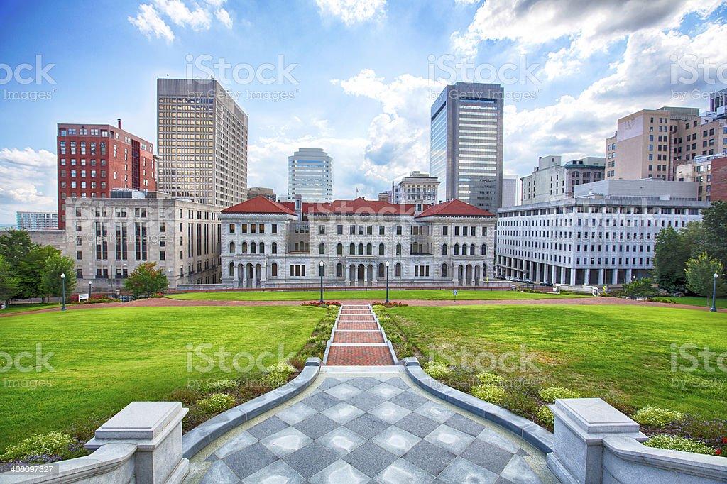 Downtown Richmond stock photo