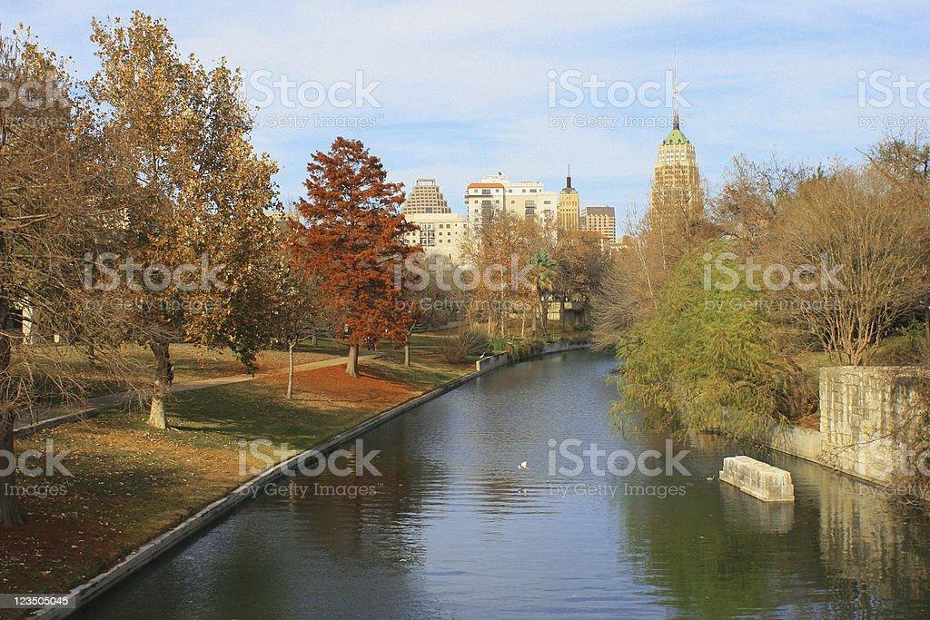 Downtown San Antonio - Riverwalk stock photo