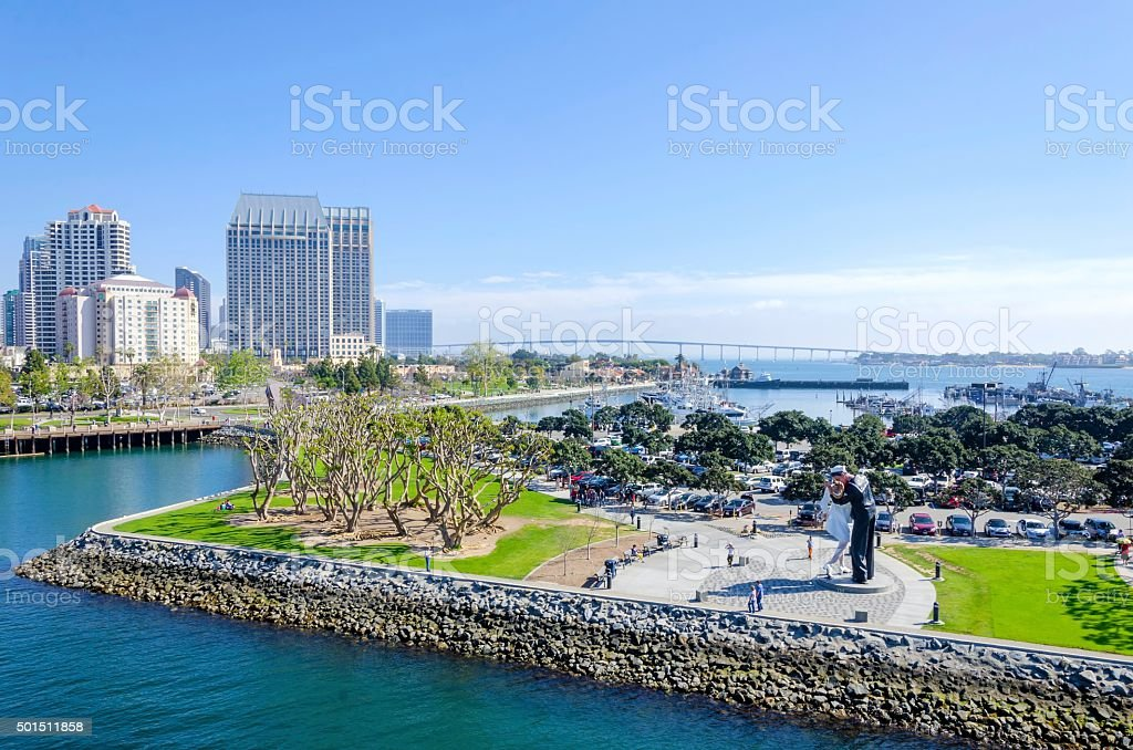 Downtown San Diego, California stock photo