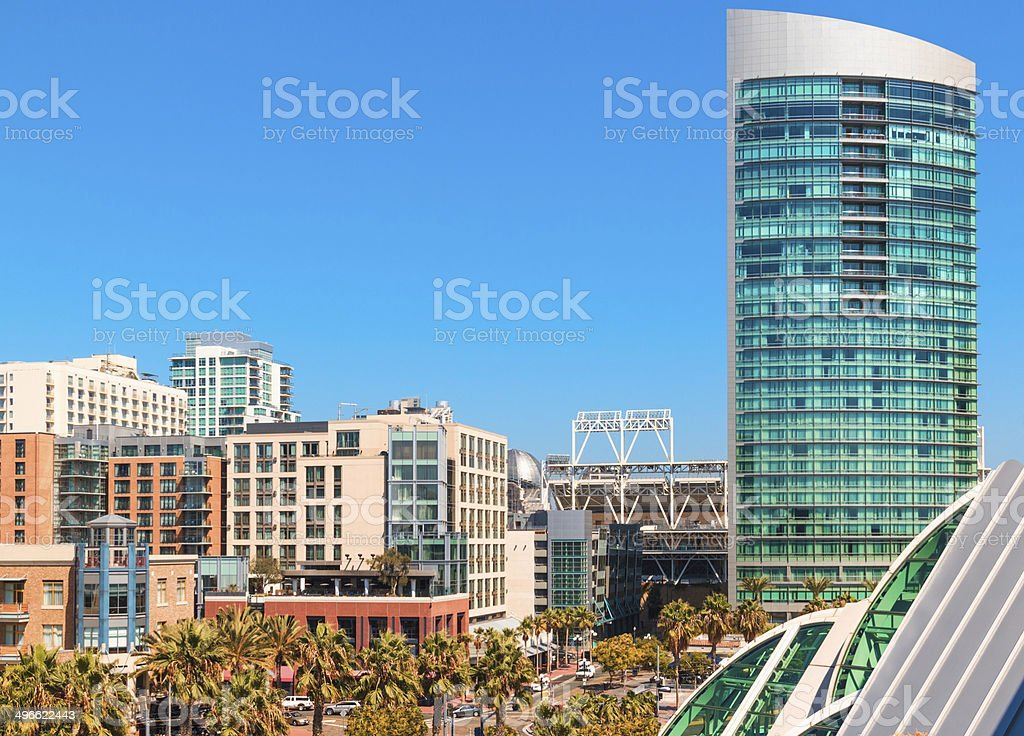 Downtown San Diego (P) stock photo