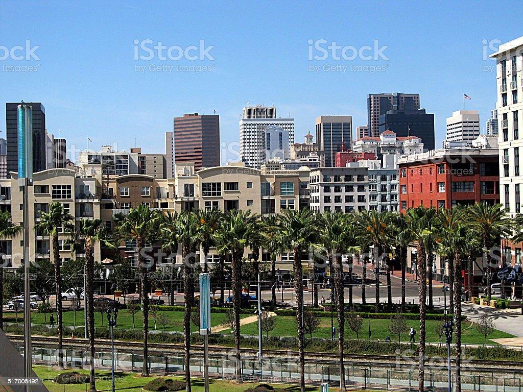Downtown San Diego stock photo