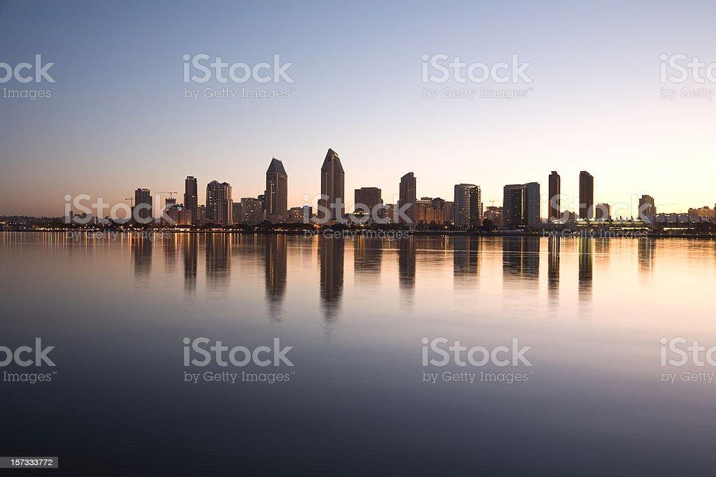 Downtown San Diego,California royalty-free stock photo
