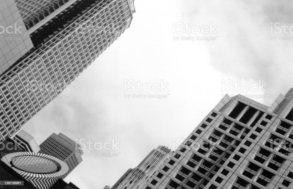 Downtown San Francisco and the MOMA stock photo