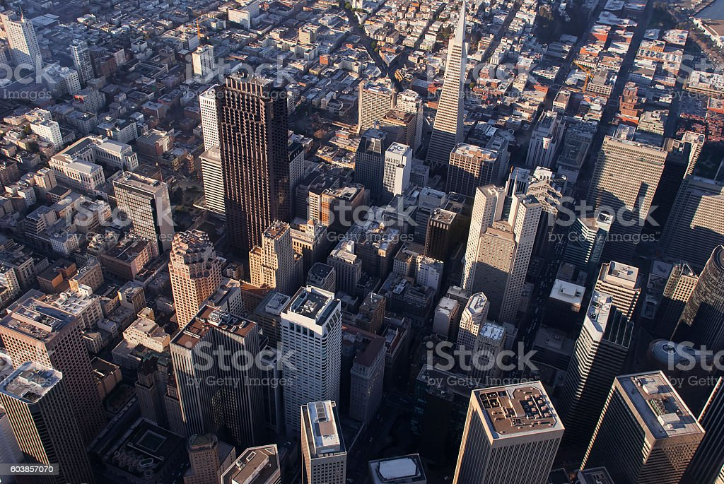 Downtown San Francisco royalty-free stock photo