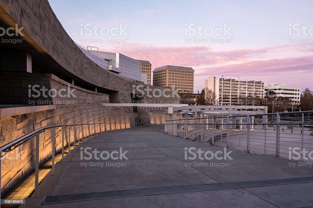 Downtown San jose stock photo