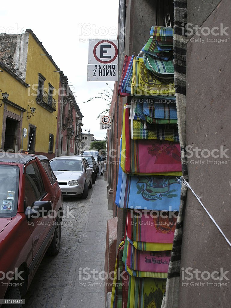 Downtown San Miguel royalty-free stock photo