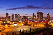Downtown skyline Calgary Alberta