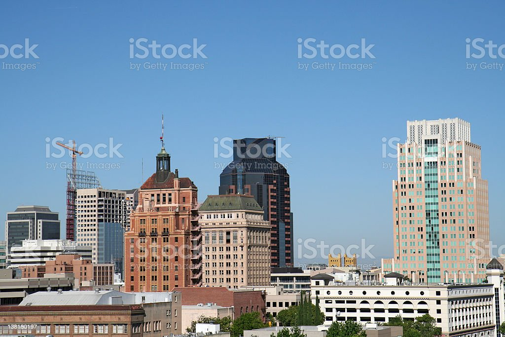 Downtown Skyline royalty-free stock photo