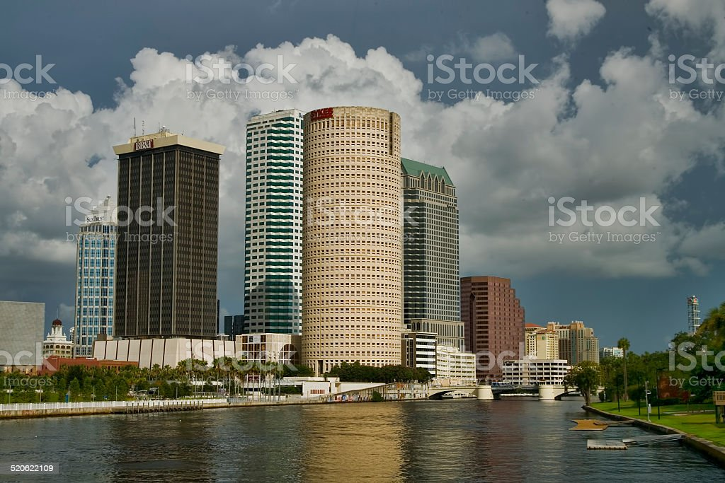 Downtown Tampa 1 stock photo
