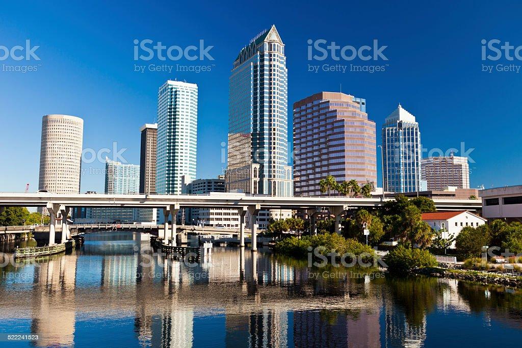 Downtown Tampa, Florida stock photo