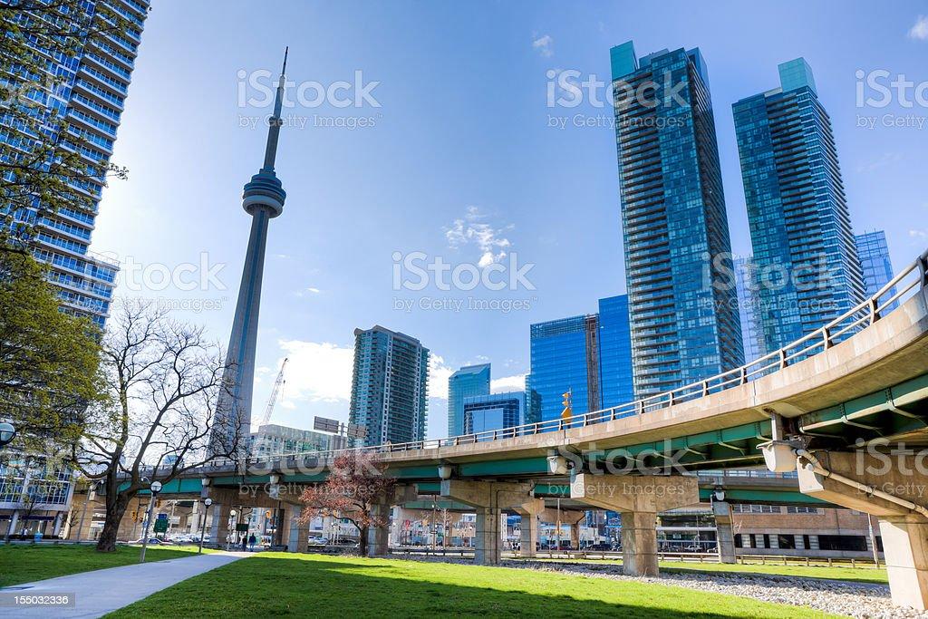 Downtown Toronto, Ontario stock photo