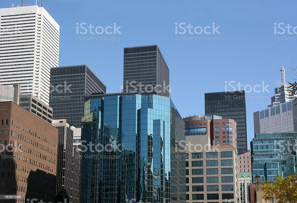 Downtown Toronto royalty-free stock photo
