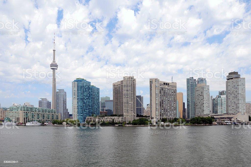 Downtown Toronto, Skyline stock photo
