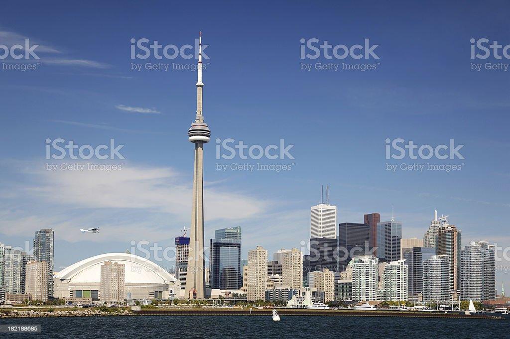 Downtown Toronto Summer Cityscape stock photo