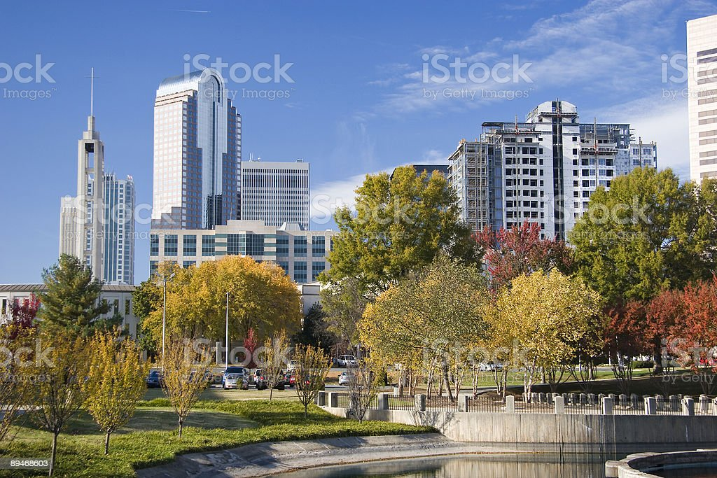 Downtown Towers stock photo