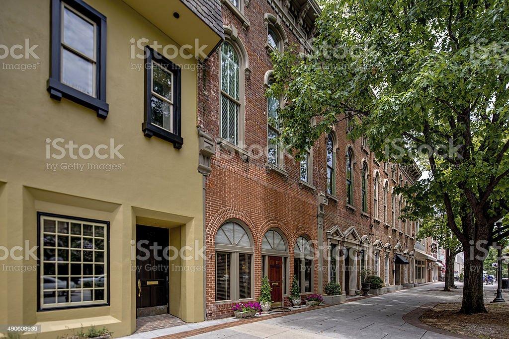 Downtown USA stock photo