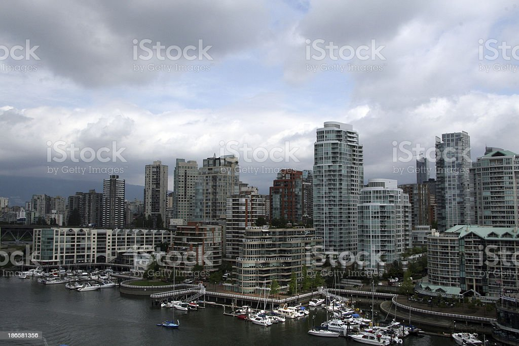 Downtown Vancouver royalty-free stock photo