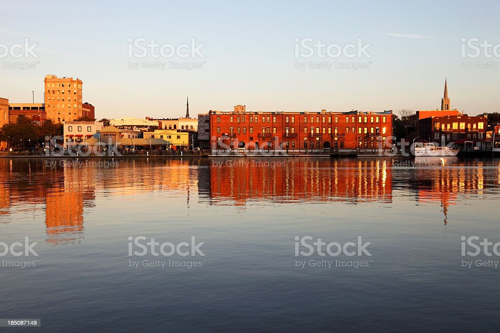 Downtown Wilmington stock photo