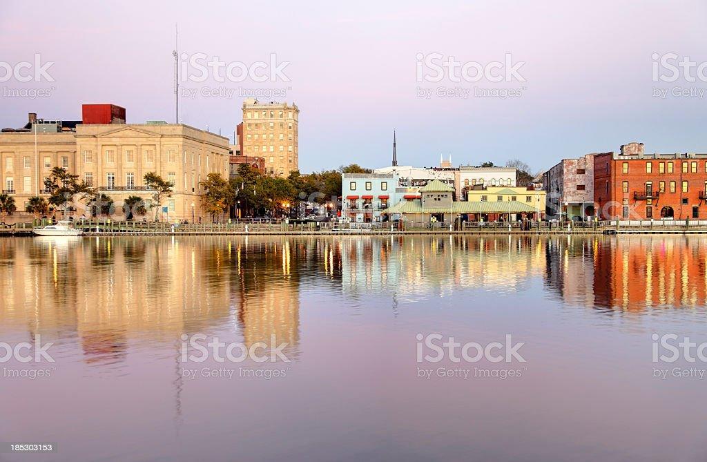 Downtown Wilmington stock photo