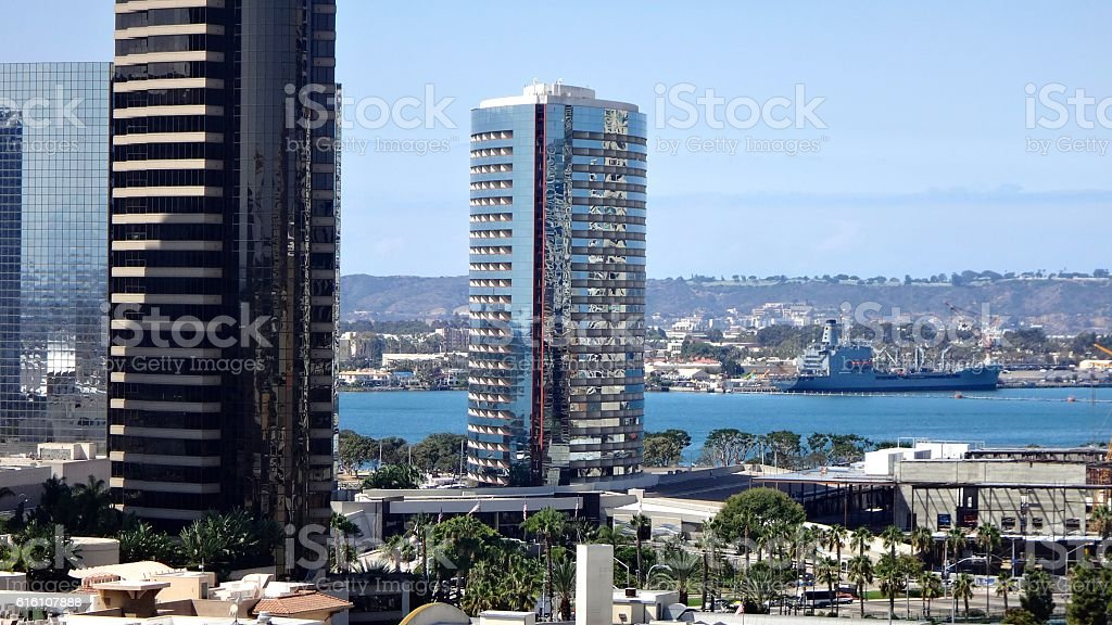 Downtwon San Diego stock photo