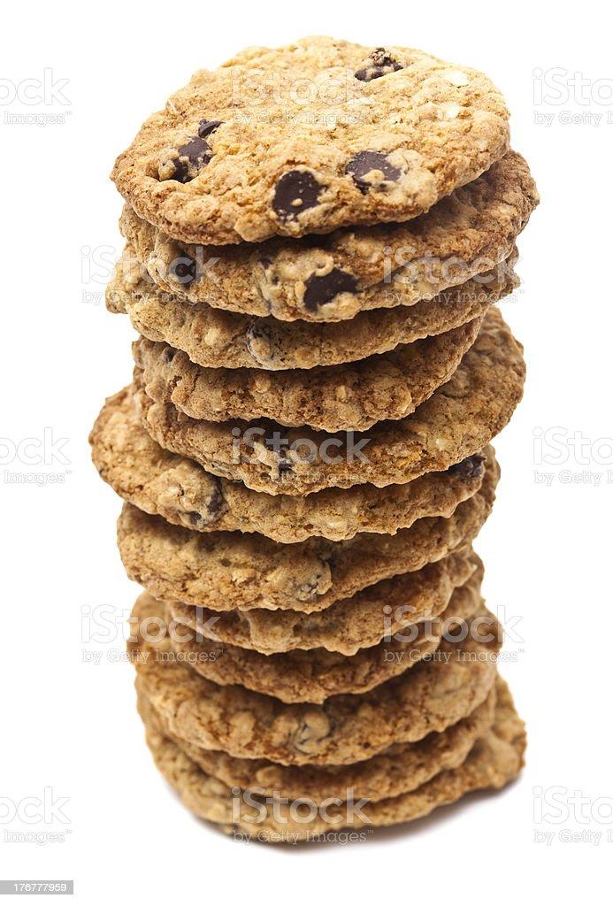 Dozen Cookies royalty-free stock photo