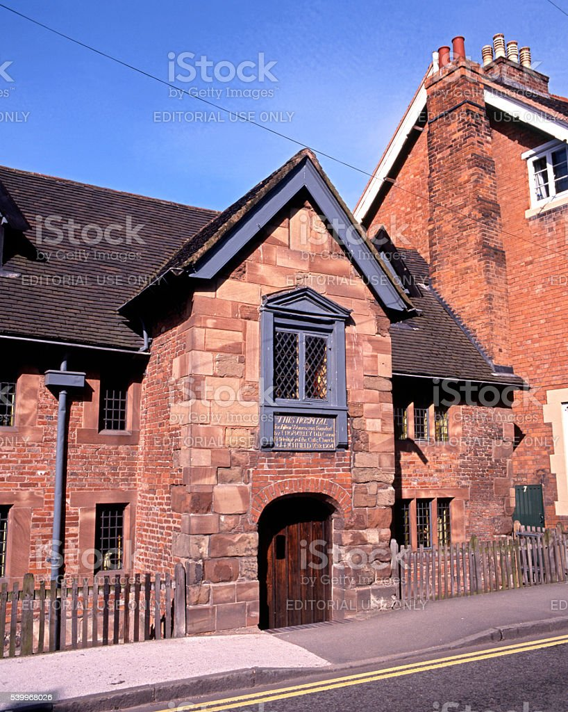 Dr Milly hospital, Lichfield. stock photo