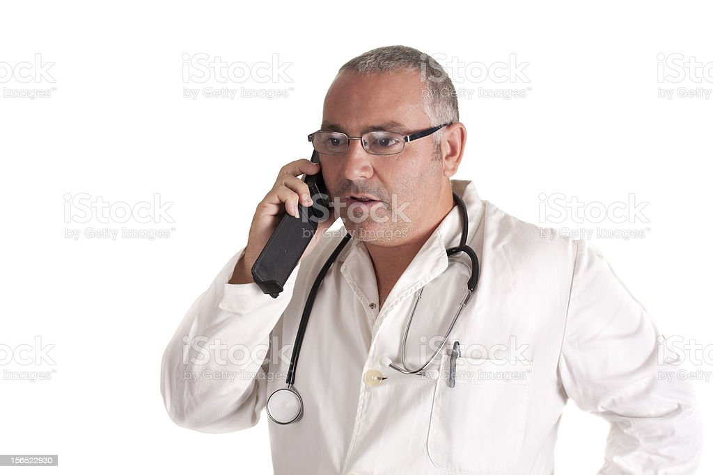 Dr. smartphone royalty-free stock photo