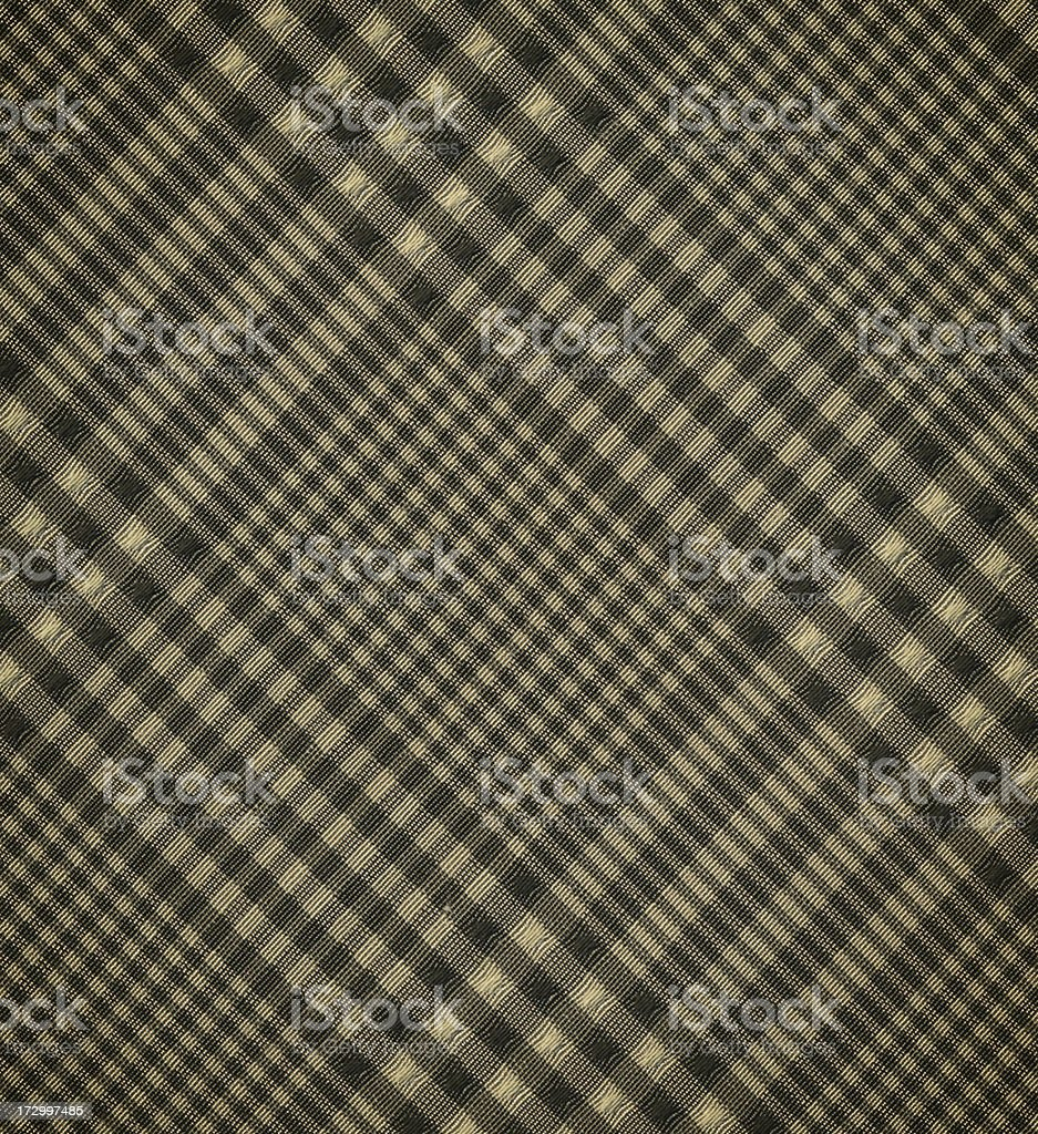 drab green plaid fabric royalty-free stock photo