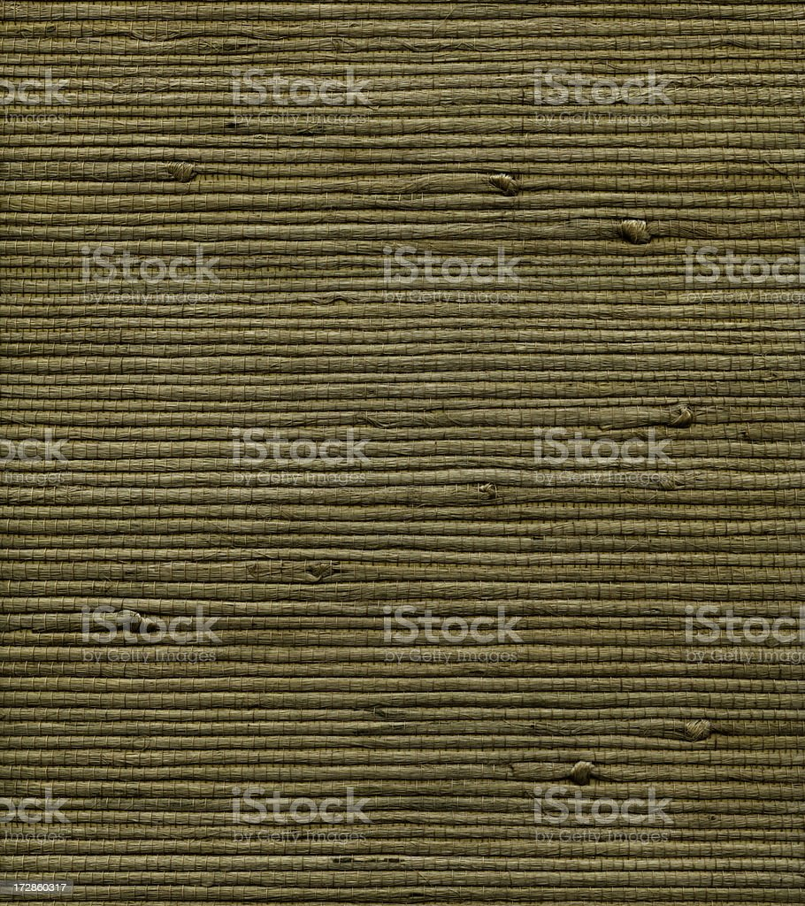 drab green woven thatch pattern royalty-free stock photo