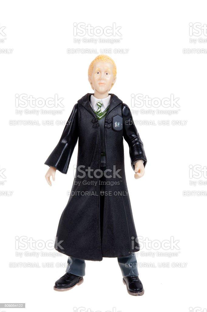 Draco Malfoy Action Figure stock photo