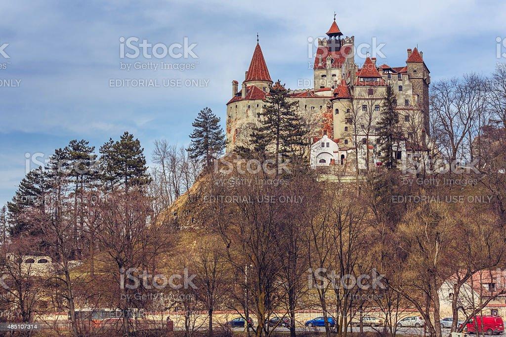 Dracula Castle, Bran, Romania stock photo