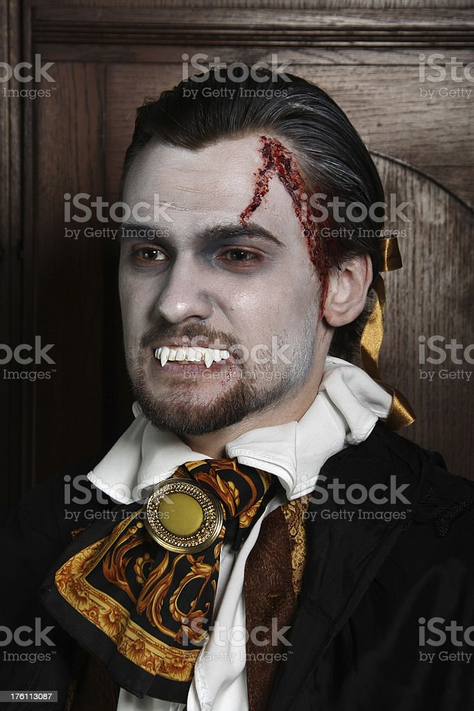 Dracula royalty-free stock photo