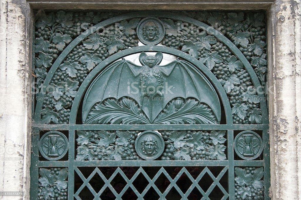 Dracula Vampire Tomb royalty-free stock photo