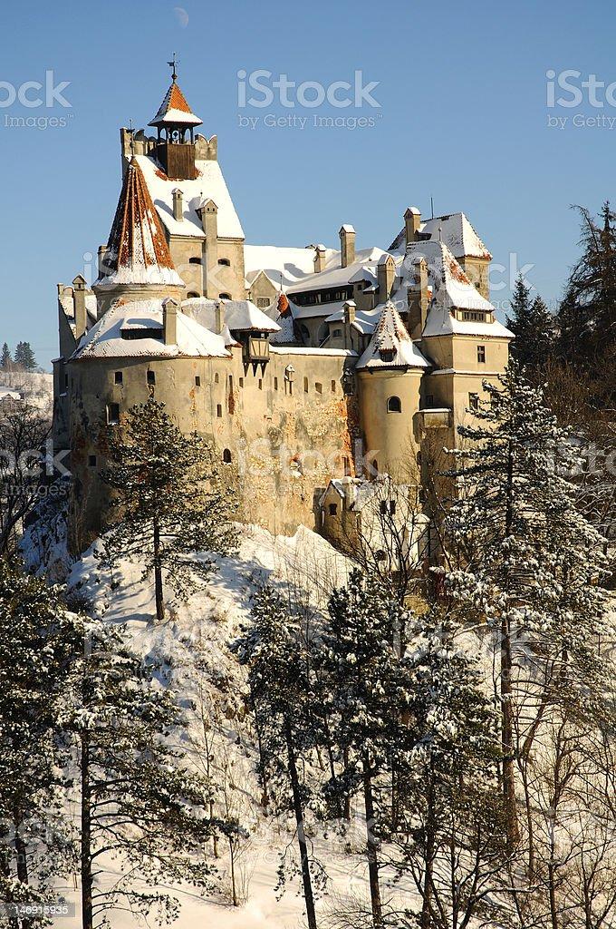 Dracula's Bran Castle, Transylvania, Romania, Europe stock photo