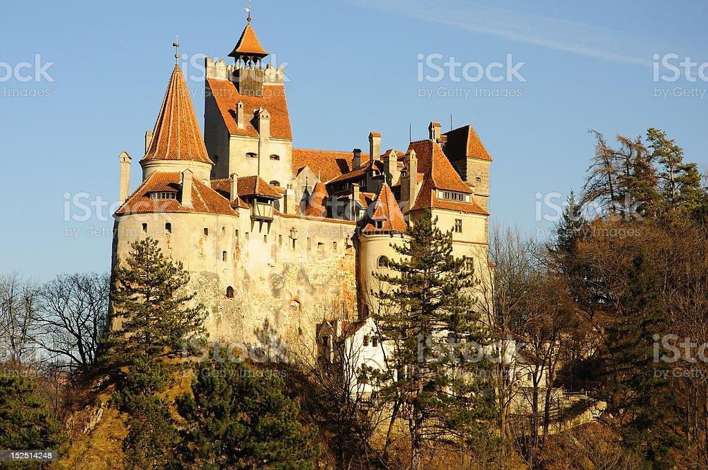 Dracula's Bran Castle, Transylvania, Romania, Europe royalty-free stock photo