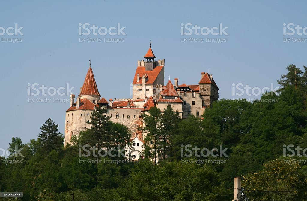 Dracula's Castle royalty-free stock photo