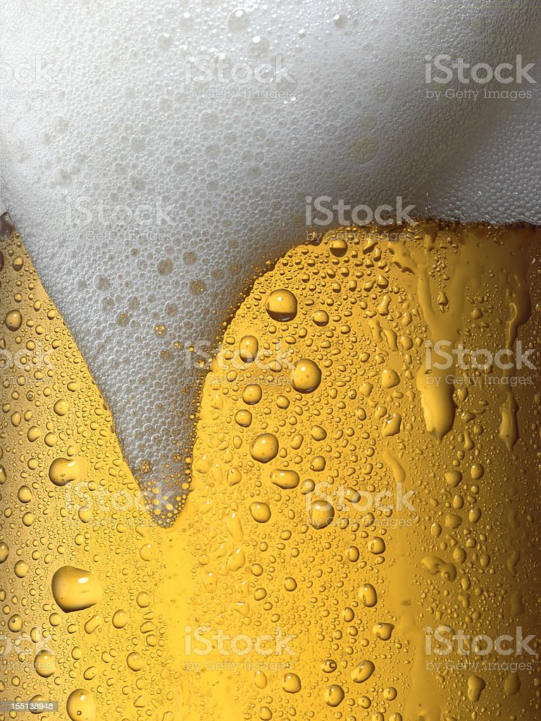 Draft beer stock photo