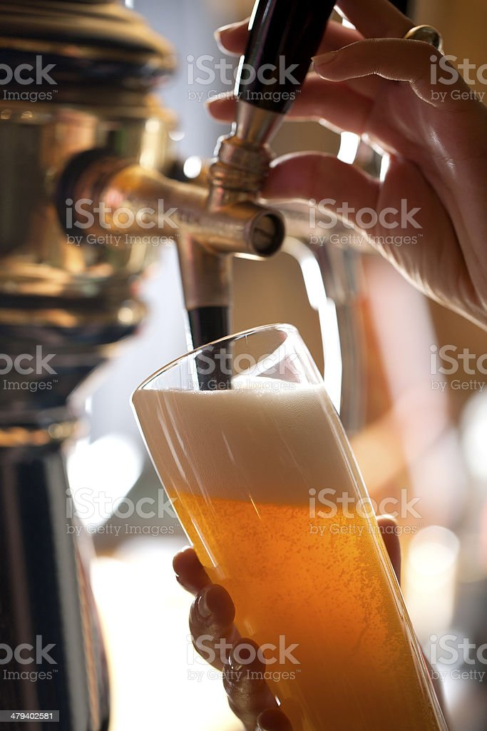 Draft Beer stock photo