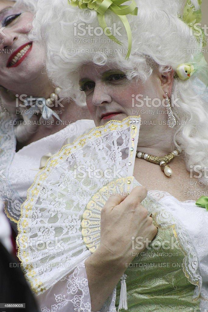 Drag Belles royalty-free stock photo