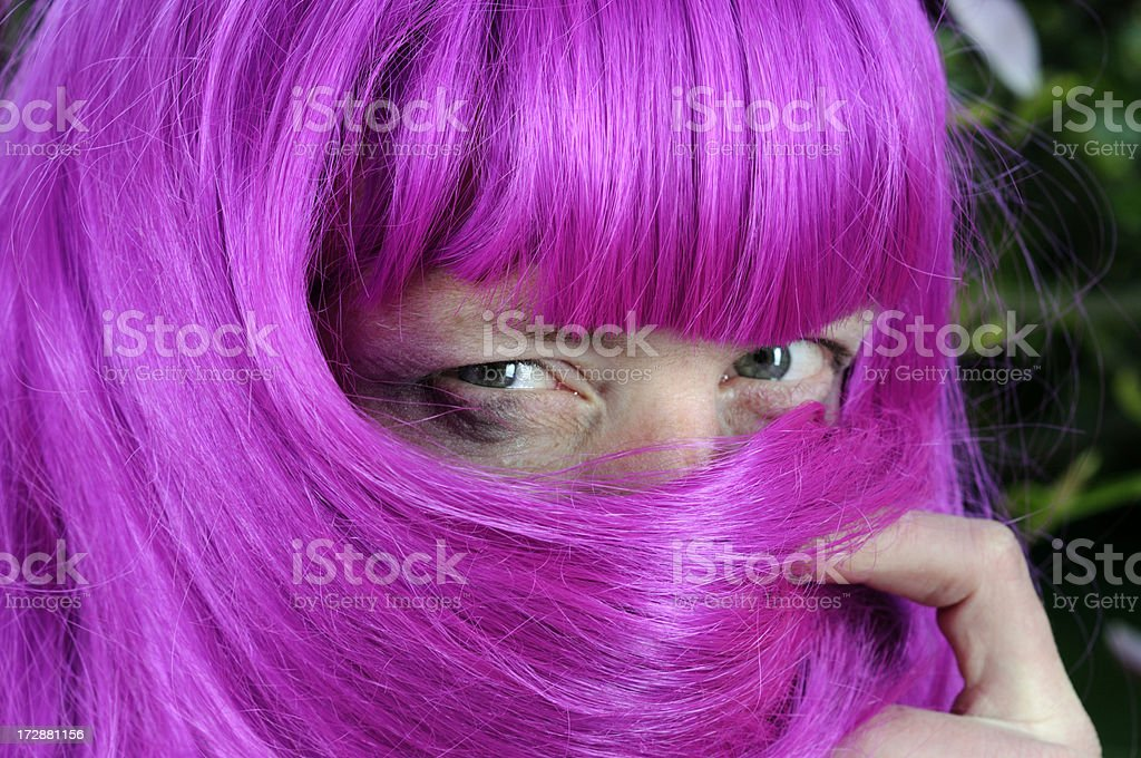 drag queen detail royalty-free stock photo