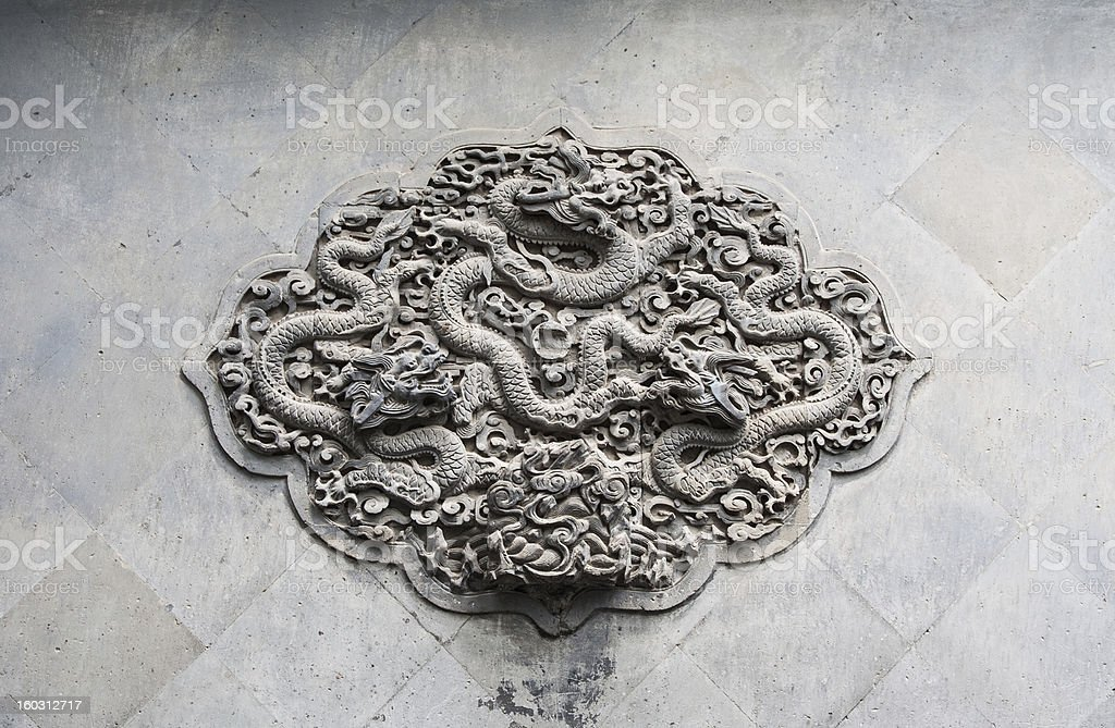 Drag?n chino royalty-free stock photo